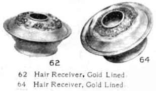 Gold hair receivers