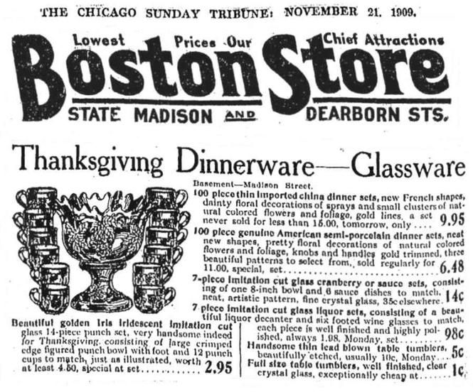 Chicago Sunday Tribune 1909