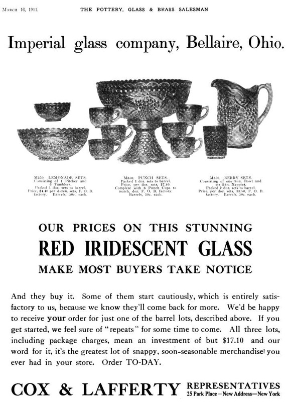 Imperial Glass advert