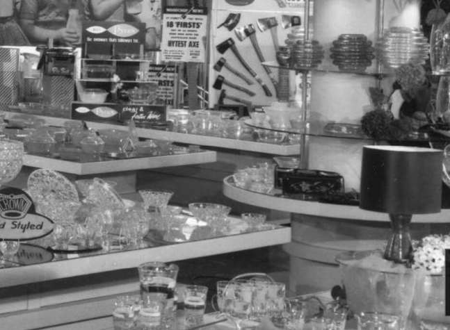 Crown Crystal showroom 1961