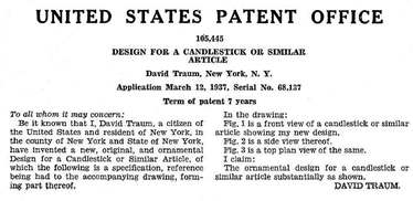 Sublime Deco Patent