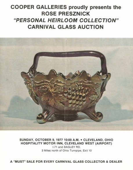 Rose Presznick auction