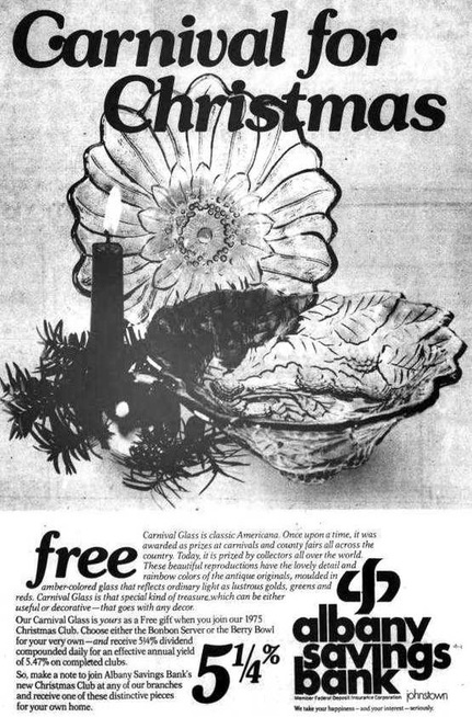 1974 ad for Indiana Glass