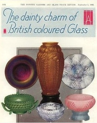 Jobling ad in the British Pottery Gazette