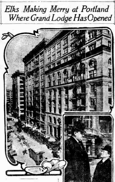 Elks concention, Portland 1912