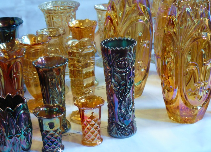 Carnival Vases Around The World Carnival Glass Worldwide
