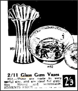 Newspaper ad 1931