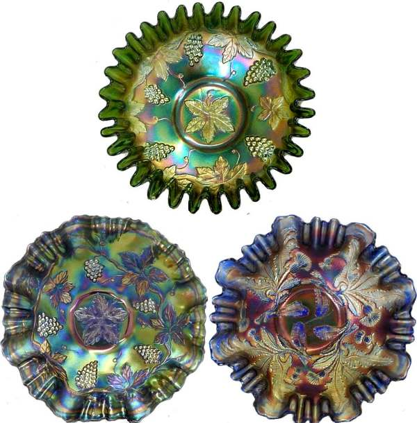 Carnival Glass bowls