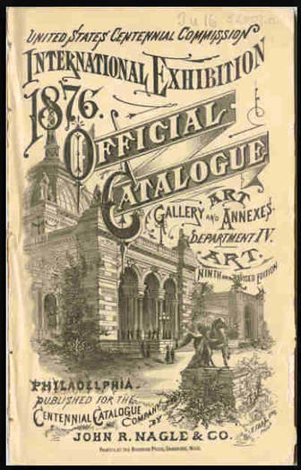 Worlds Fair catalogue 1876