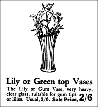 Newspaper ad 1927