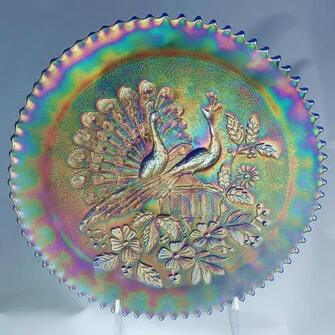 Northwood Peacocks plate