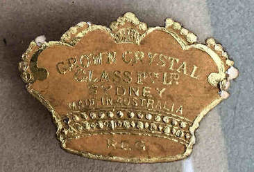 Crown Crystal label