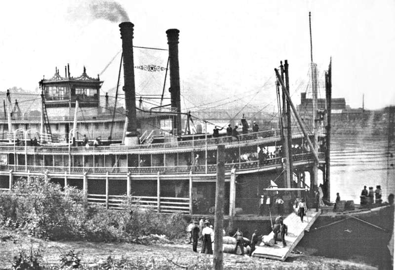 Loading a Riverboat